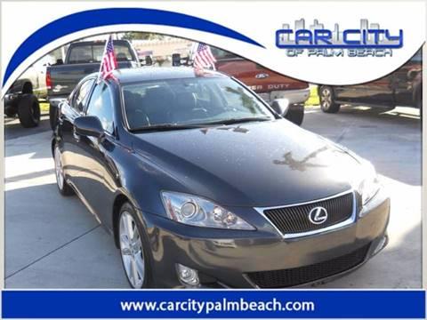 2007 Lexus IS 350 for sale in West Palm Beach, FL