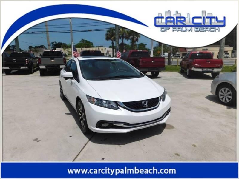 2015 Honda Civic EX L 4dr Sedan   West Palm Beach FL