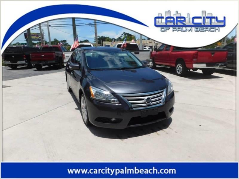 2013 Nissan Sentra SL 4dr Sedan   West Palm Beach FL
