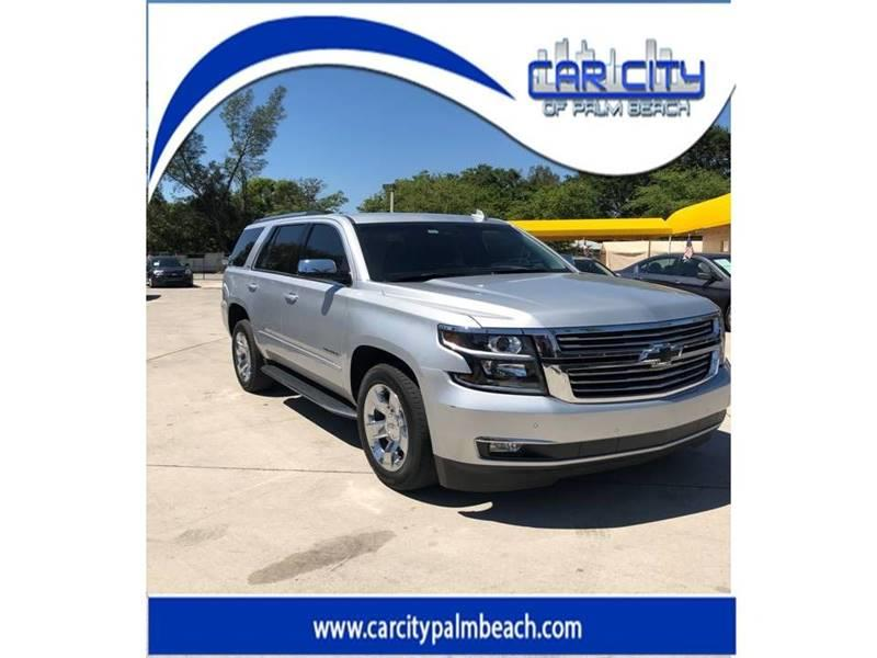 2016 Chevrolet Tahoe 4x2 LTZ 4dr SUV   West Palm Beach FL