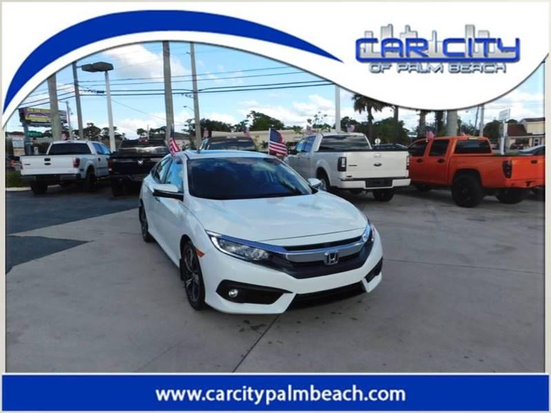 2017 honda civic touring 4dr sedan in west palm beach fl car city of palm beach. Black Bedroom Furniture Sets. Home Design Ideas