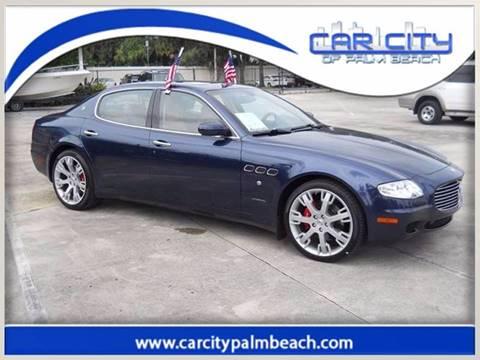 2008 Maserati Quattroporte for sale in West Palm Beach, FL