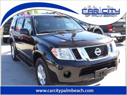 2008 Nissan Pathfinder for sale in West Palm Beach, FL