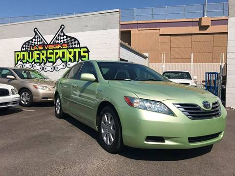 2007 Toyota Camry Hybrid for sale in North Las Vegas, NV