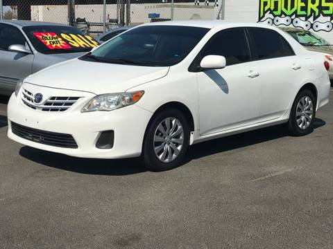2013 Toyota Corolla for sale in North Las Vegas, NV