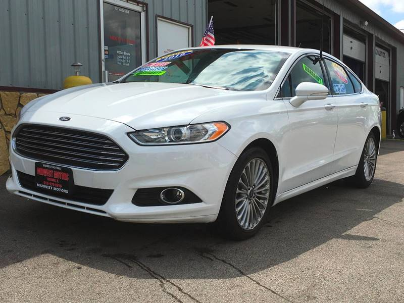 2016 Ford Fusion for sale at Midwest Motors of Savanna in Savanna IL