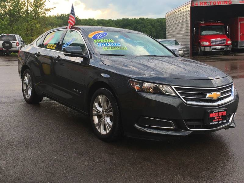 2015 Chevrolet Impala for sale at Midwest Motors of Savanna in Savanna IL