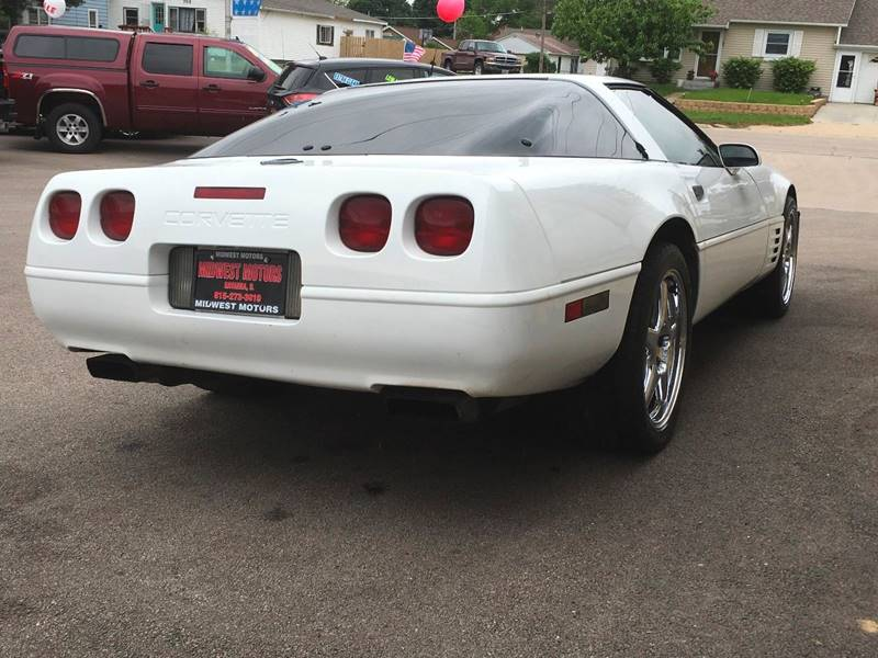 1992 Chevrolet Corvette for sale at Midwest Motors of Savanna in Savanna IL