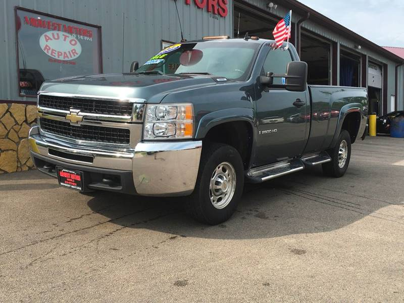 2009 Chevrolet Silverado 2500HD for sale at Midwest Motors of Savanna in Savanna IL