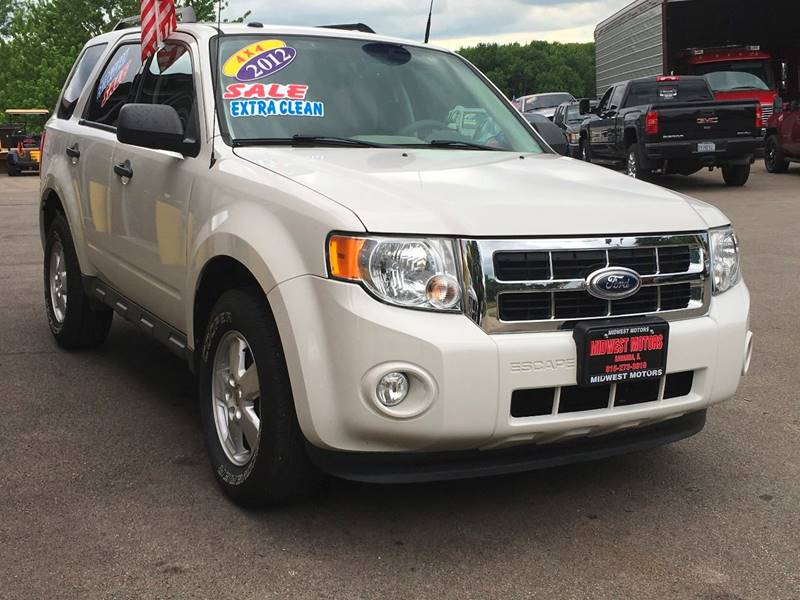 2012 Ford Escape for sale at Midwest Motors of Savanna in Savanna IL
