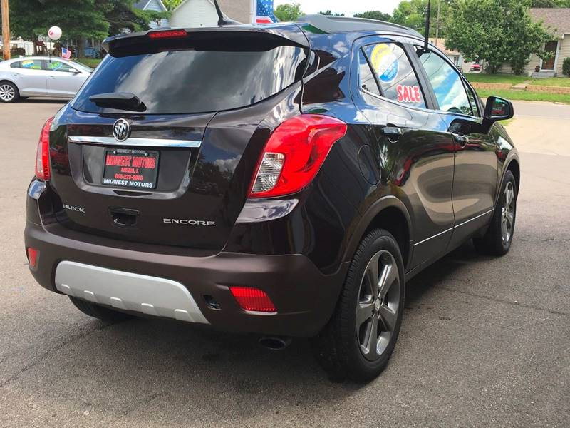 2013 Buick Encore for sale at Midwest Motors of Savanna in Savanna IL