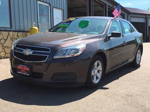 2013 Chevrolet Malibu for sale at Midwest Motors of Savanna in Savanna IL