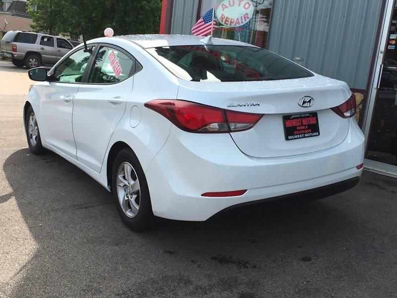 2015 Hyundai Elantra for sale at Midwest Motors of Savanna in Savanna IL