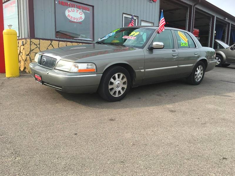 2003 Mercury Grand Marquis for sale at Midwest Motors of Savanna in Savanna IL