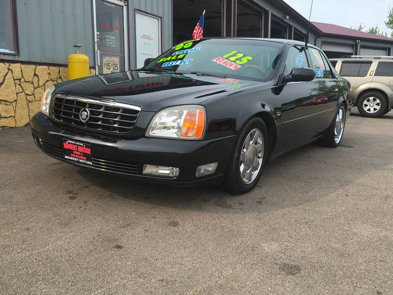 2000 Cadillac DeVille for sale at Midwest Motors of Savanna in Savanna IL