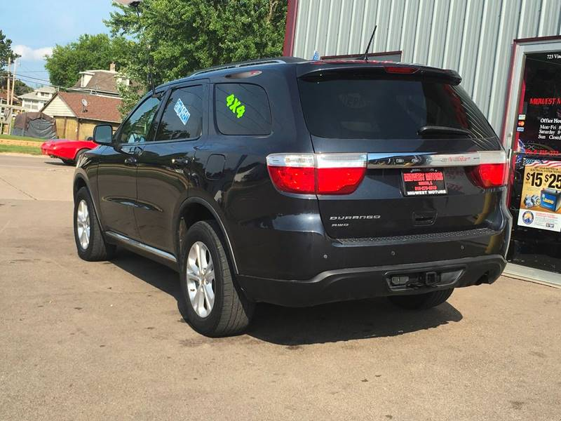 2012 Dodge Durango for sale at Midwest Motors of Savanna in Savanna IL