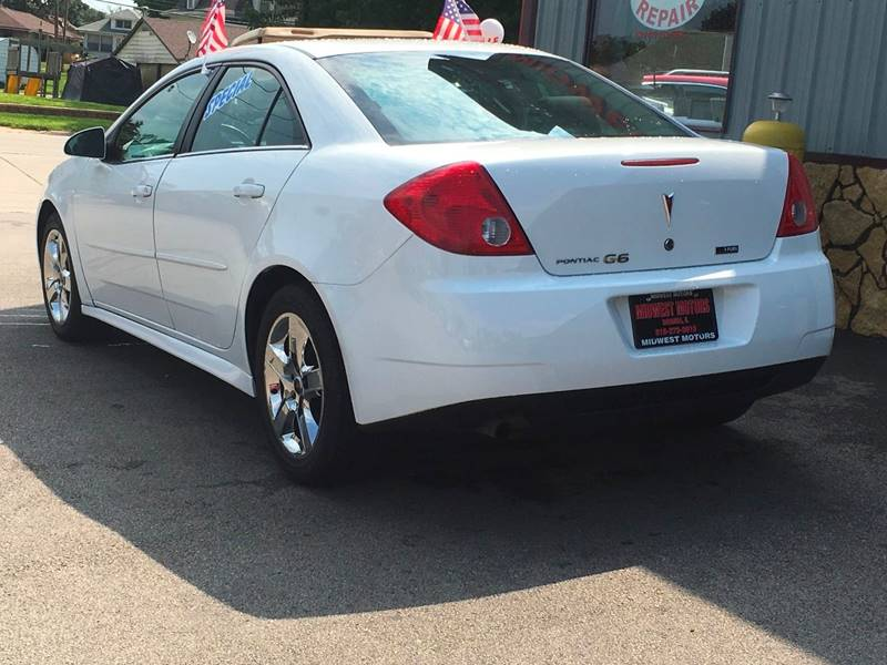 2010 Pontiac G6 for sale at Midwest Motors of Savanna in Savanna IL