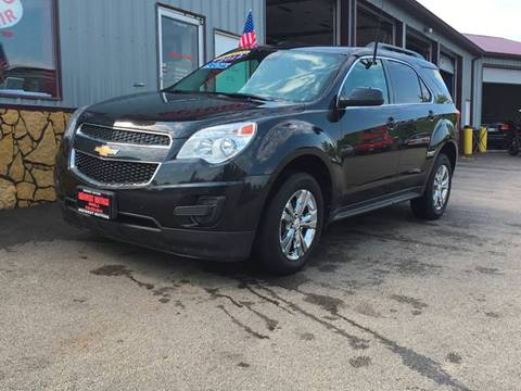 2012 Chevrolet Equinox for sale at Midwest Motors of Savanna in Savanna IL