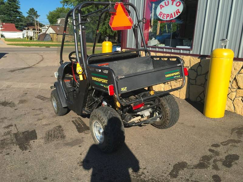 2000 AMERICAN SPORTWORKS YARD CART for sale at Midwest Motors of Savanna in Savanna IL