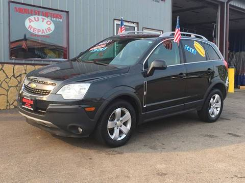 2012 Chevrolet Captiva Sport for sale at Midwest Motors of Savanna in Savanna IL