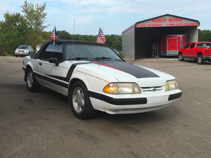 1989 Ford Mustang for sale at Midwest Motors of Savanna in Savanna IL