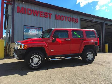 2008 HUMMER H3 for sale at Midwest Motors of Savanna in Savanna IL