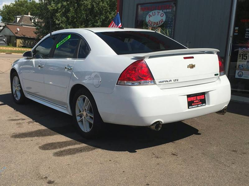 2013 Chevrolet Impala for sale at Midwest Motors of Savanna in Savanna IL