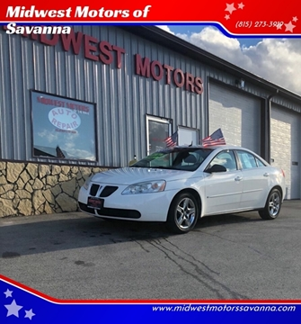 2008 Pontiac G6 for sale in Savanna, IL