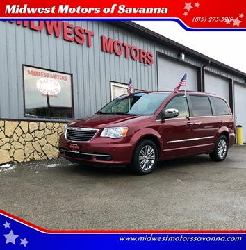 2013 Chrysler Town and Country for sale in Savanna, IL