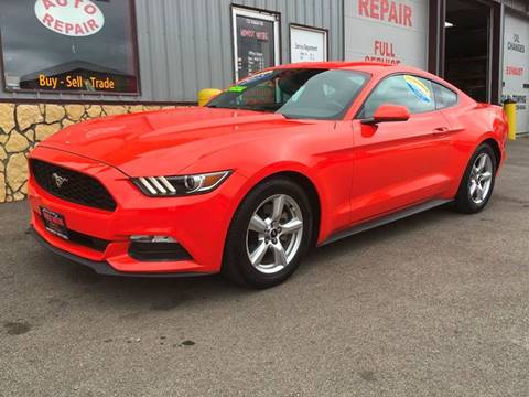 2015 Ford Mustang for sale at Midwest Motors of Savanna in Savanna IL