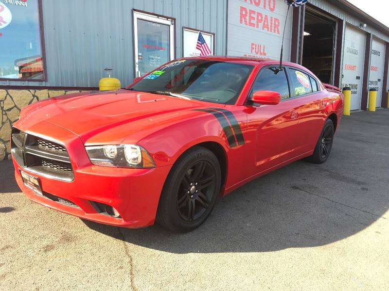 2012 Dodge Charger for sale at Midwest Motors of Savanna in Savanna IL