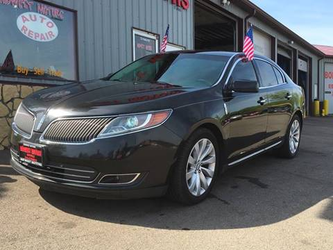 2013 Lincoln MKS for sale at Midwest Motors of Savanna in Savanna IL