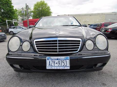 2002 Mercedes-Benz E-Class for sale at CarNation AUTOBUYERS, Inc. in Rockville Centre NY