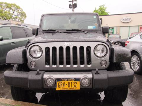2014 Jeep Wrangler Unlimited for sale at CarNation AUTOBUYERS, Inc. in Rockville Centre NY