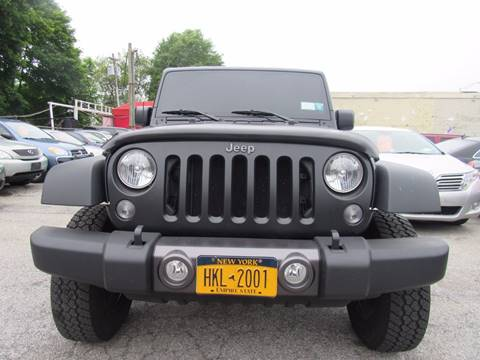 2016 Jeep Wrangler Unlimited for sale at CarNation AUTOBUYERS, Inc. in Rockville Centre NY
