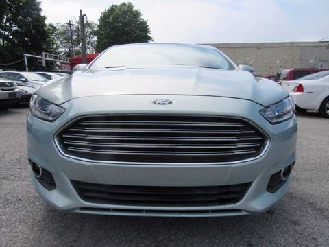 2013 Ford Fusion Hybrid for sale at CarNation AUTOBUYERS, Inc. in Rockville Centre NY