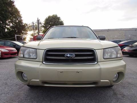 2003 Subaru Forester for sale at CarNation AUTOBUYERS Inc. in Rockville Centre NY