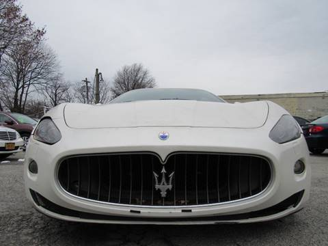 2008 Maserati GranTurismo for sale at CarNation AUTOBUYERS, Inc. in Rockville Centre NY