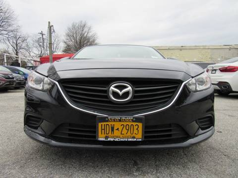 2016 Mazda MAZDA6 for sale at CarNation AUTOBUYERS, Inc. in Rockville Centre NY