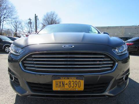 2015 Ford Fusion for sale at CarNation AUTOBUYERS, Inc. in Rockville Centre NY