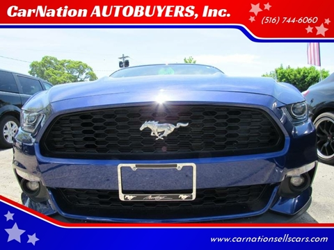 2016 Ford Mustang for sale at CarNation AUTOBUYERS, Inc. in Rockville Centre NY