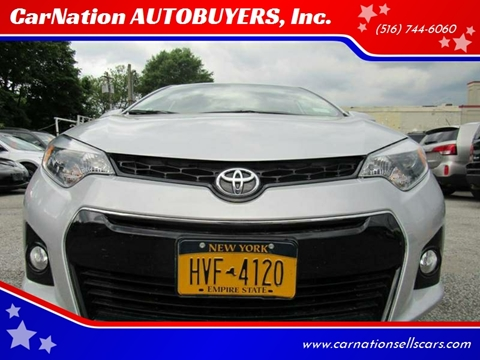 2016 Toyota Corolla for sale at CarNation AUTOBUYERS, Inc. in Rockville Centre NY