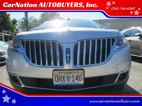 2015 Lincoln MKX for sale at CarNation AUTOBUYERS, Inc. in Rockville Centre NY