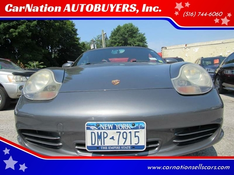 2003 Porsche Boxster for sale at CarNation AUTOBUYERS, Inc. in Rockville Centre NY