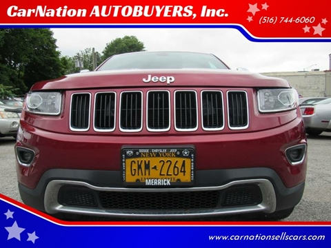2014 Jeep Grand Cherokee for sale at CarNation AUTOBUYERS, Inc. in Rockville Centre NY