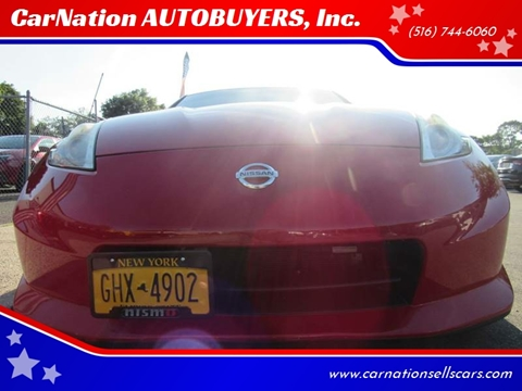 2012 Nissan 370Z for sale at CarNation AUTOBUYERS, Inc. in Rockville Centre NY