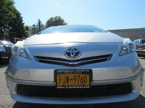 2012 Toyota Prius v for sale at CarNation AUTOBUYERS, Inc. in Rockville Centre NY