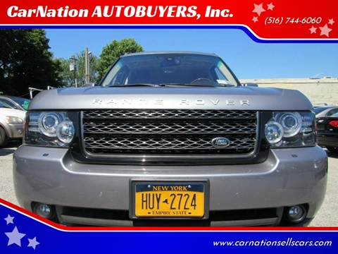 2012 Land Rover Range Rover for sale at CarNation AUTOBUYERS Inc. in Rockville Centre NY