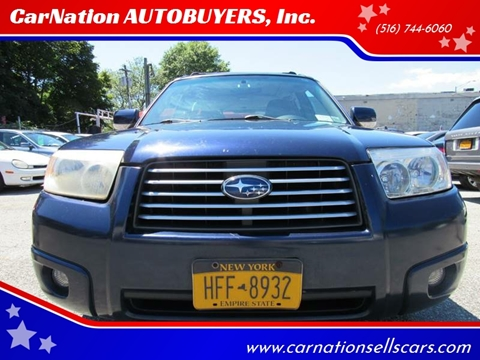 2006 Subaru Forester for sale at CarNation AUTOBUYERS, Inc. in Rockville Centre NY