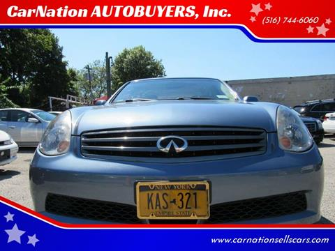 2006 Infiniti G35 for sale at CarNation AUTOBUYERS, Inc. in Rockville Centre NY